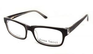 Unisex plastové okuliare dona lucci