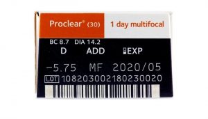 Proclear 1 Day multifocal (30 šošoviek)