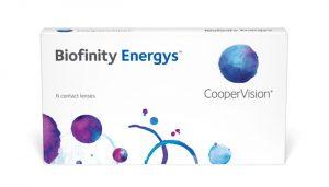 šošovky Biofinity Energys