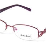 Dámske kovové bordové dioptrické okuliare 0108  1