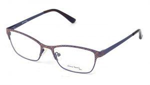 Dámske kovové bordové dioptrické okuliare 0406