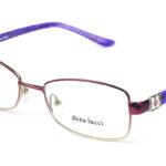 Dámske kovové bordovo – fialové dioptrické okuliare 0196  1