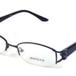 Dámske kovové čierne dioptrické okuliare 0249  1