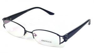 Dámske kovové čierne dioptrické okuliare 0249