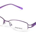 Dámske kovové fialové dioptrické okuliare 0174  1
