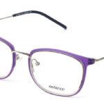 Dámske kovové fialovo – zlaté dioptrické okuliare 0573 1