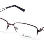 Dámske kovové hnedé dioptrické okuliare 0528  1