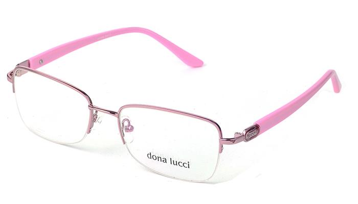 Dámske kovové ružové dioptrické okuliare 0240