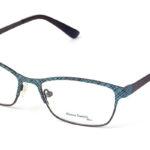 Dámske kovové zelené dioptrické okuliare 0408  1