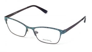 Dámske kovové zelené dioptrické okuliare 0408