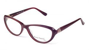 Dámske plastové bordové dioptrické okuliare 0298