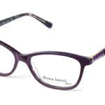 Dámske plastové bordové dioptrické okuliare 0435  1