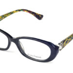 Dámske plastové čierne dioptrické okuliare 0229  1