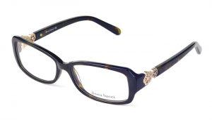Dámske plastové čierne dioptrické okuliare 0234