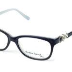 Dámske plastové čierne dioptrické okuliare 0433  1