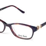 Dámske plastové čierno – hnedé dioptrické okuliare 0544  1