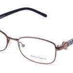 Dámske plastové hnedé dioptrické okuliare 0265  1