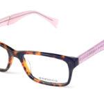 Dámske plastové hnedé dioptrické okuliare 0277  1