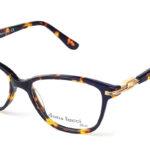 Dámske plastové hnedé dioptrické okuliare 0287 1