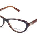 Dámske plastové hnedé dioptrické okuliare 0299  1