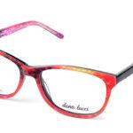 Dámske plastové viacfarebné dioptrické okuliare 0521  1