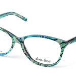 Dámske plastové zelené dioptrické okuliare 0519  1