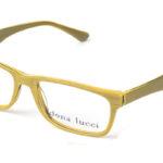 Dámske plastové žlté dioptrické okuliare 0223  1