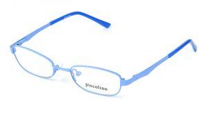Detské kovové  bledomodré dioptrické okuliare 0147