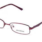 Detské kovové bordové dioptrické okuliare 0145  1