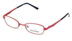 Detské kovové červené dioptrické okuliare 0146