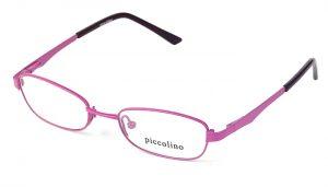 Detské kovové červené dioptrické okuliare 0148