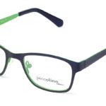 Detské kovové čierne dioptrické okuliare 0339