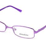Detské kovové fialové dioptrické okuliare 0143  1