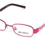 Detské kovové ružové dioptrické okuliare 0111  1