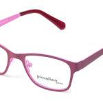 Detské kovové ružové dioptrické okuliare 0337  1