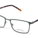 Pánske kovové zelené dioptrické okuliare 0415 1