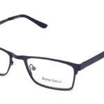 Unisex kovové čierne dioptrické okuliare 0055  1
