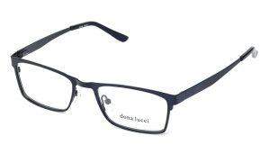 Unisex kovové čierne dioptrické okuliare 0055