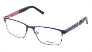 Unisex kovové modro - oranžové dioptrické okuliare 0517