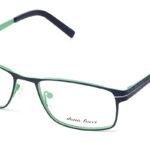 Unisex kovové zeleno – čierne dioptrické okuliare 0538  1