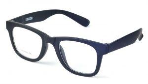 Unisex plastové čierne dioptrické okuliare 0591