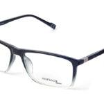 Unisex plastové čierno – sivé dioptrické okuliare 0409 1