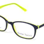 Unisex plastové čierno – žlté  dioptrické okuliare 0214  1