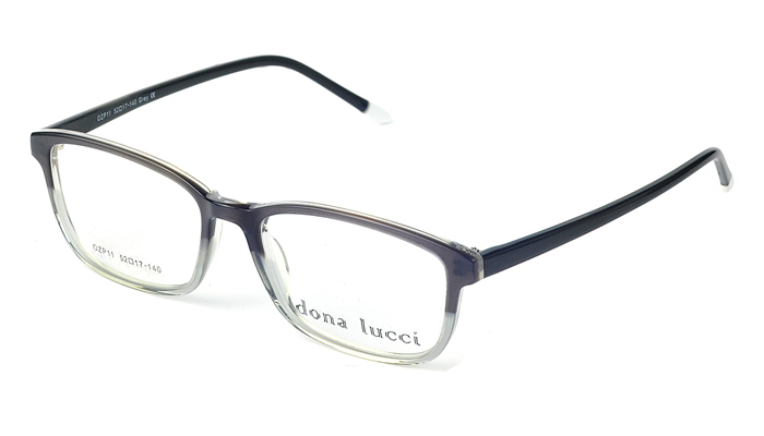 Unisex plastové sivé dioptrické okuliare 0212
