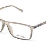 Unisex plastové sivé dioptrické okuliare 0411 1