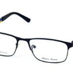 Dámske kovové čierne dioptrické okuliare 686