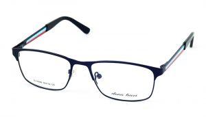 Dámske kovové modré dioptrické okuliare 688