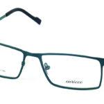 Pánske kovové zelené dioptrické okuliare 694