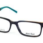 Pánske plastové tmavohnedé dioptrické okuliare 699