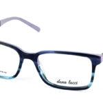 Pánske plastové šedo-fialové dioptrické okuliare 700